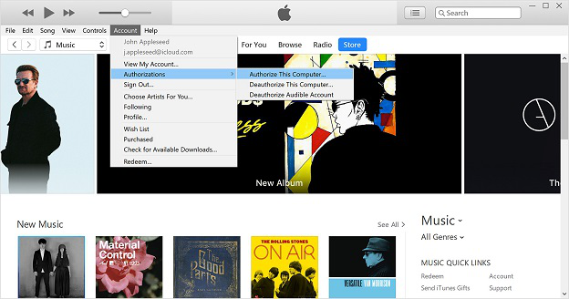 How to Fix iTunes Not Playing Music via Authorize Computer