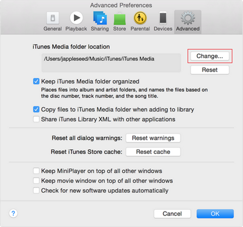 How to Fix iTunes Original File Could Not Be Found via Re-establish Link