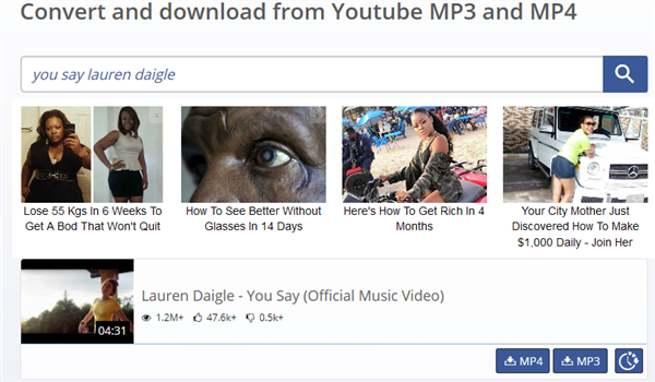 Free Download Lauren Daigle You Say Mp3 with Savetomp3