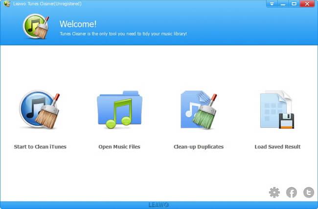 iTunes Repair Software - Leawo Tunes Cleaner