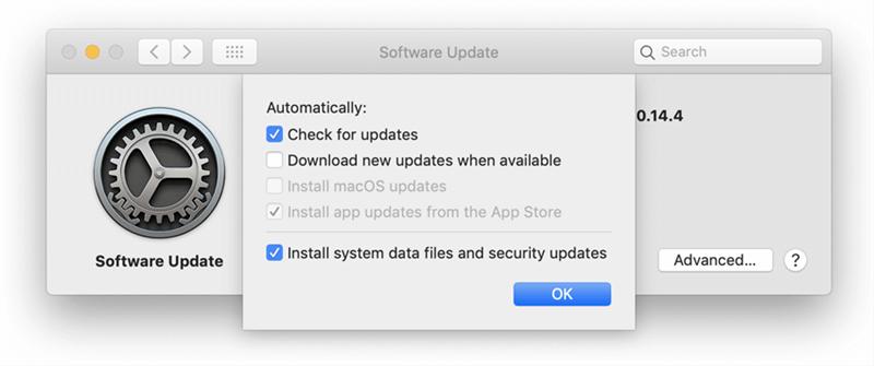 Check Mac System Update