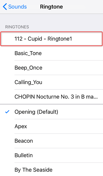 How to Make a Song as Ringtone on iPhone X/XS/XS Max/XR