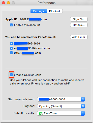 How to Make and Answer iPhone Calls on Your Mac – Step 2