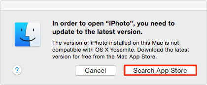 How to Make iPhoto Work Again in OS X Yosemite – Step 2