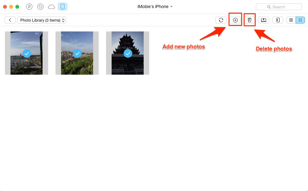 How to Manage Photos on iPhone with AnyTrans