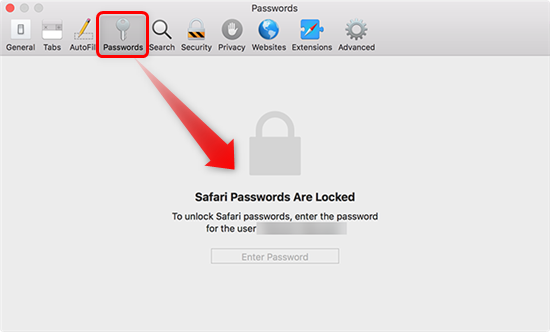 Enter Mac Password