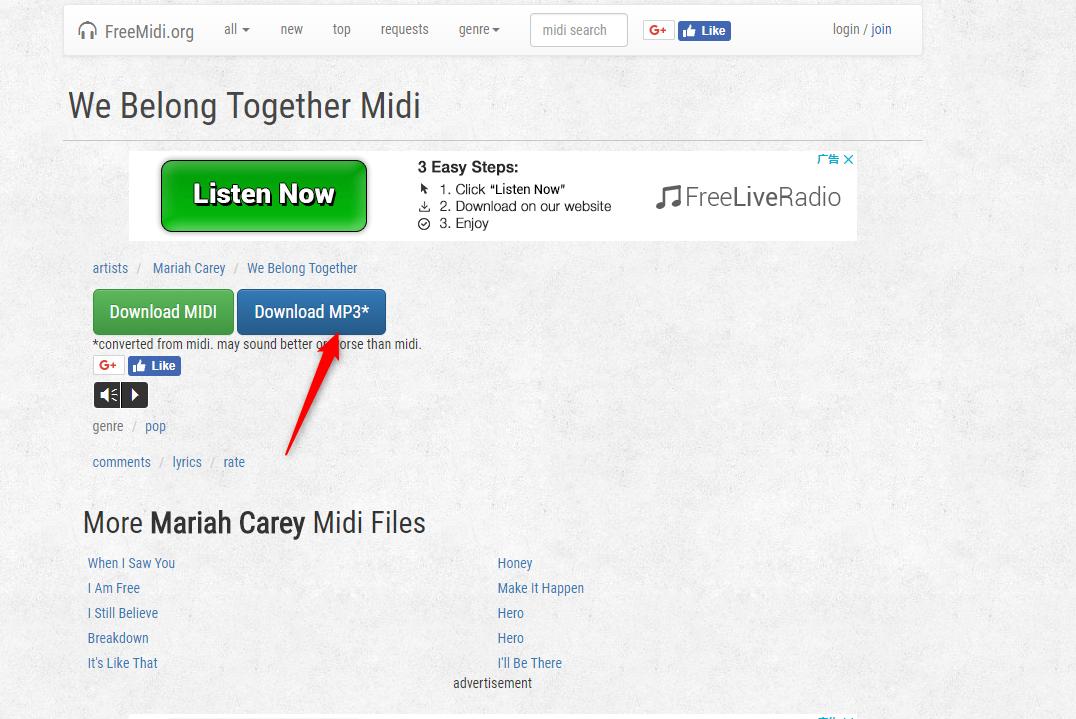 How to Download Mariah Carey We Belong Together - Freemidi.org