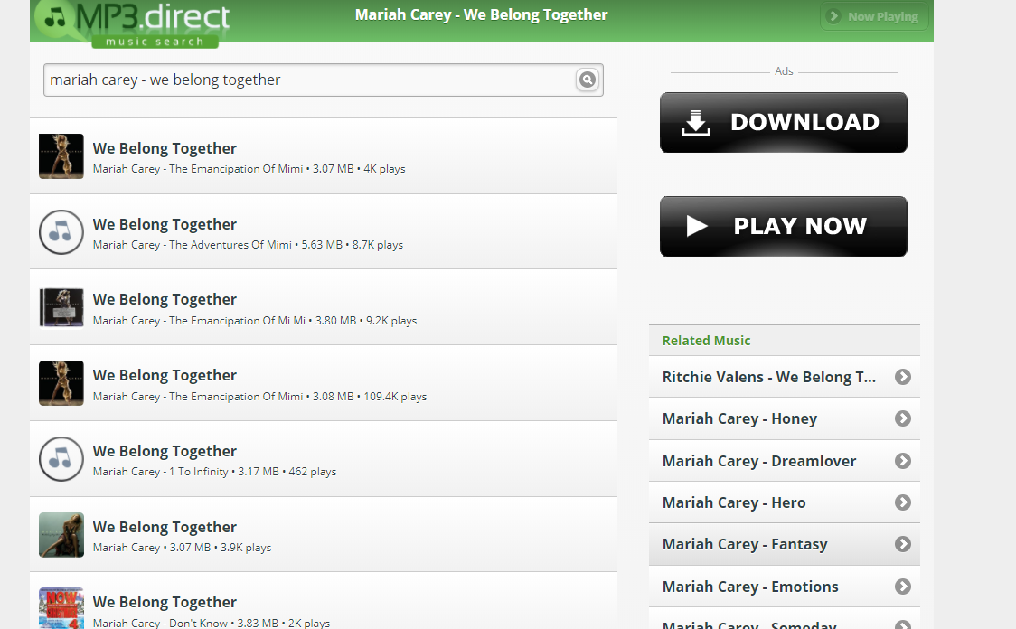 How to Download Mariah Carey We Belong Together - MP3.direct