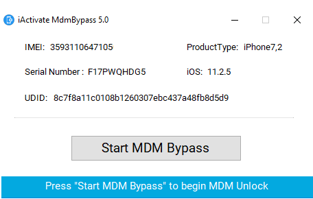MDM Bypass Service from iActivate