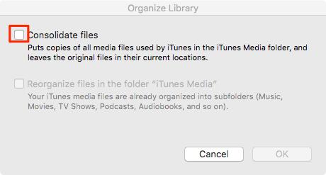 Merge iTunes Libraries