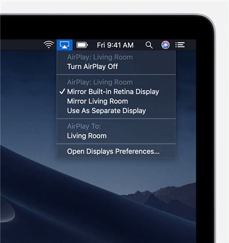 How to Mirror Mac Screen to Apple TV