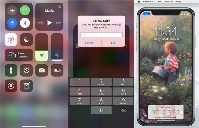Mirroring Your iPhone Screen to Mac with Airplay