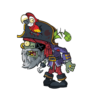New Characters in Plants vs. Zombies 2: Pirate Captain