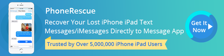 Best Way to Recover Deleted iMessages without Computer