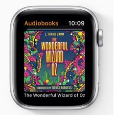 New Audiobooks App