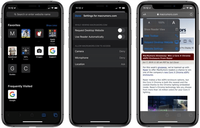 iPhone 2019 - A Fully-Functional Web Browser
