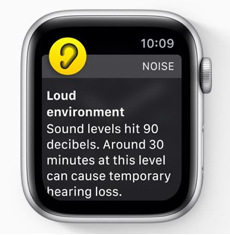 New Noise App in WatchOS
