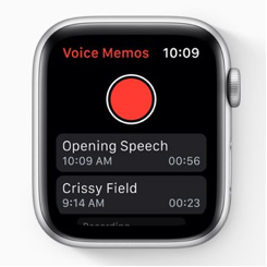 New Voice Memos App