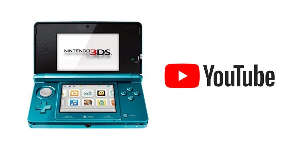 Fix 3Ds YouTube Error