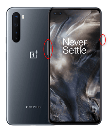 Recovery mode on OnePlus devices