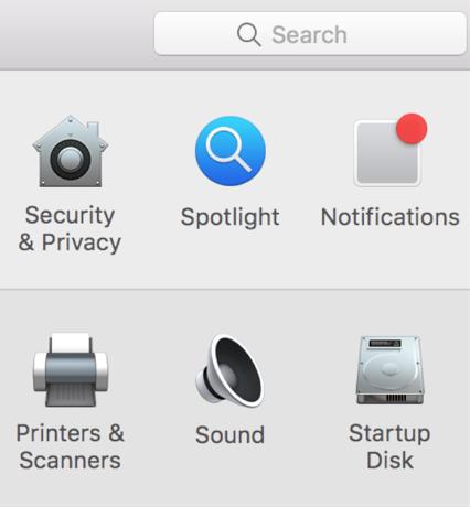 Open the Notifications Settings Menu on Mac