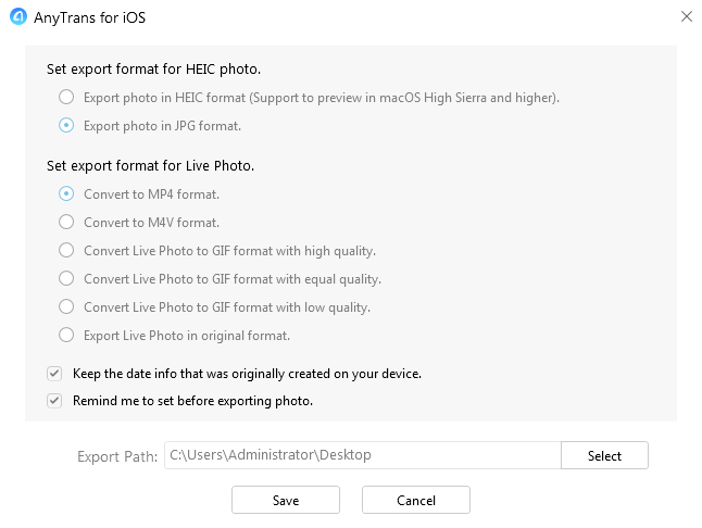 How to Organize Photos on iPhone iPad - Step 4