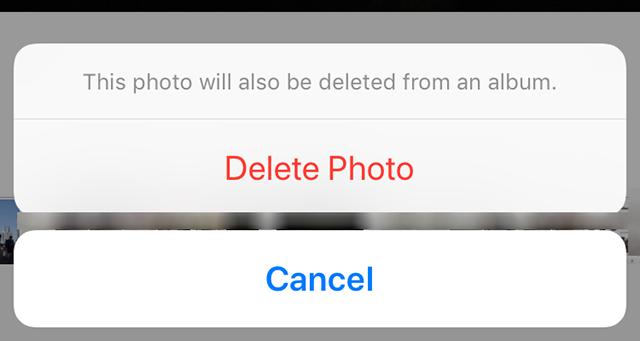Delete A Photo