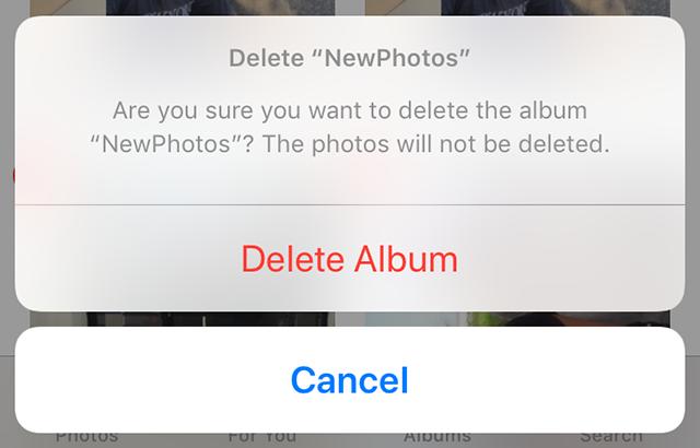 Delete An Album