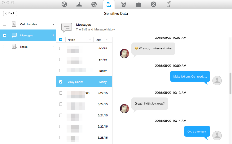 How to Permanently Delete iMessages from iPhone iPad – Step 3