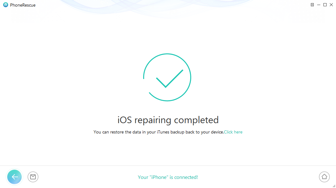 How to Reboot iPhone/iPad without Losing Data – Step 6