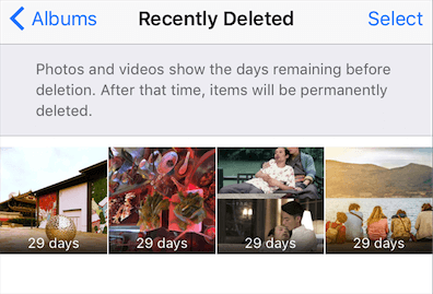 Fix iPhone Pictures Disappeared by Recently Deleted Album