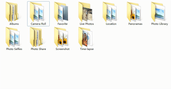Photos Successfully Transferred to Computer