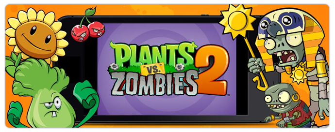 New Characters in Plants vs. Zombies 2