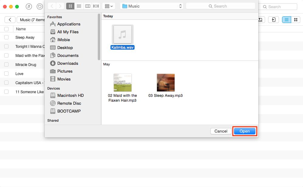 open wav files on mac