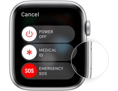 Power off Your Apple Watch