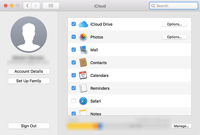 Enable calendar sync on the Mac