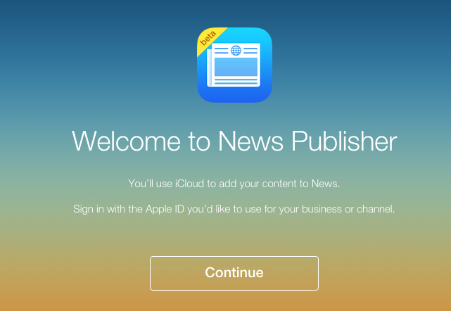 How to Publish News in iOS 9 News App – Step 2