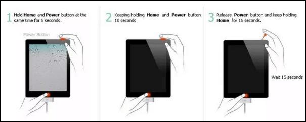 Put Your iPad into DFU Mode