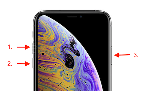 Put iPhone XS/XR/X/8 into Recovery Mode