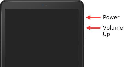 Restart Samsung Tablet