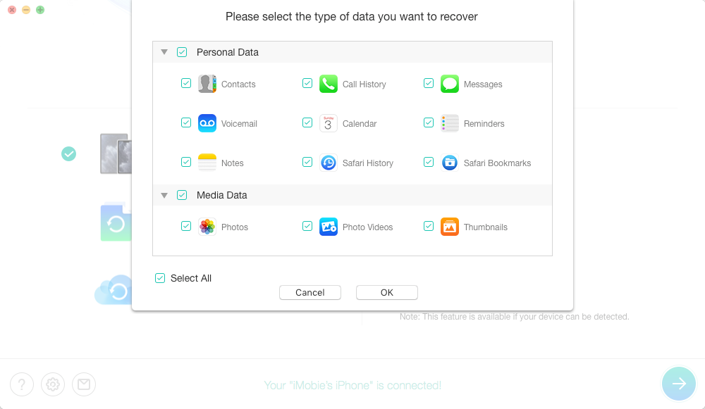 How to Recover Data from Locked/Disabled iPhone/iPad – Step 2