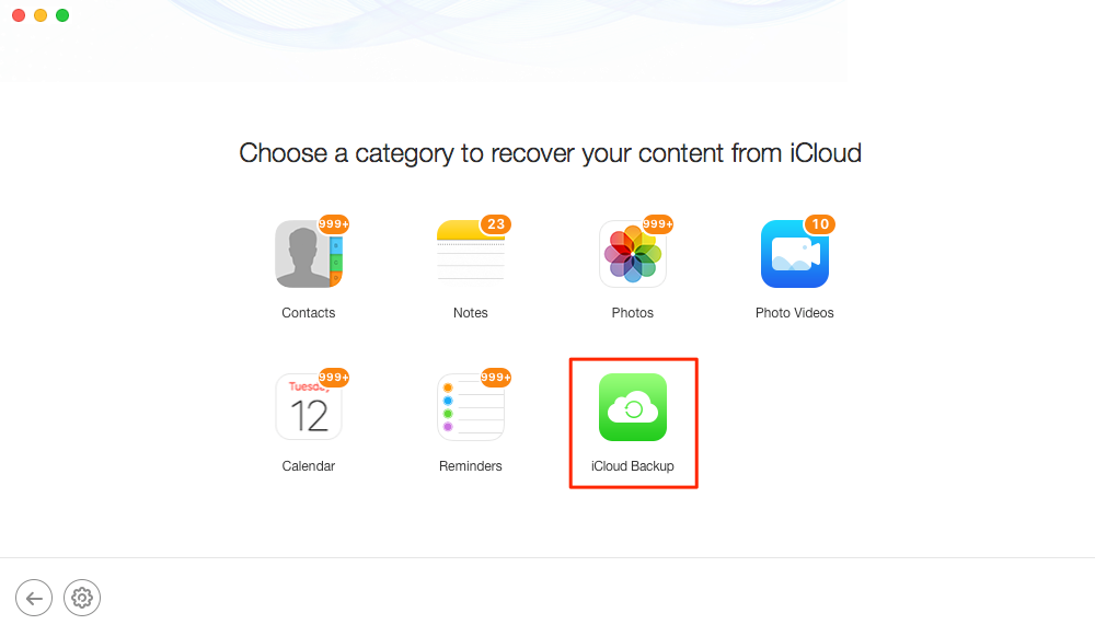 How to Recover Deleted iPhone Contacts from iCloud – Step 4