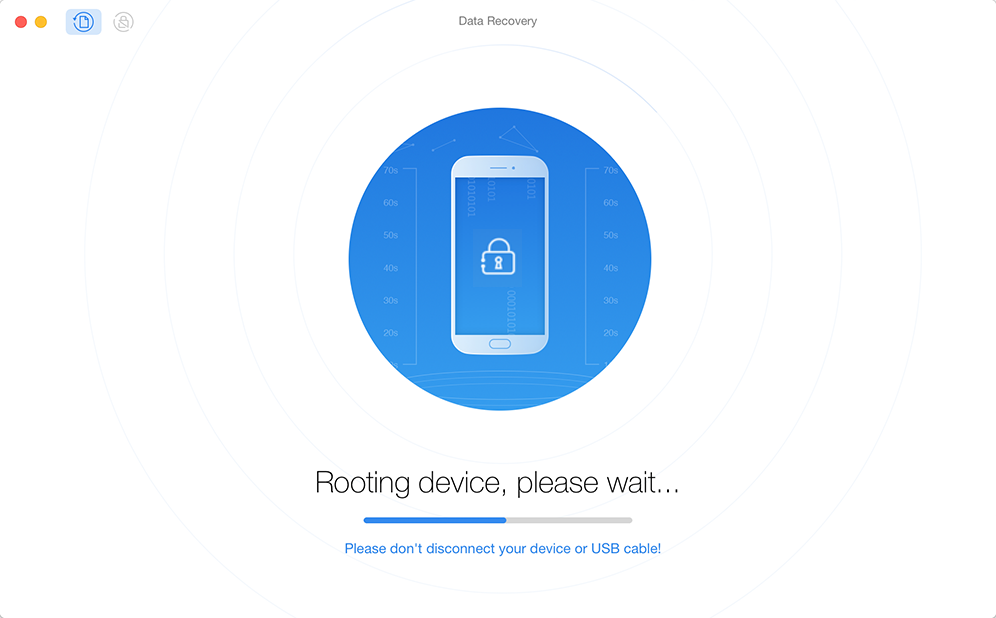 Rooting the Device via PhoneRescue for Android