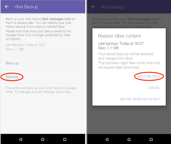 How to Retrieve Deleted Viber Messages on Android from Backup