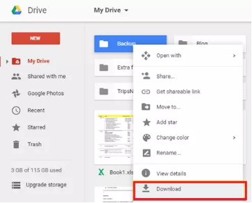 Recover Deleted Videos on Android from Google Drive