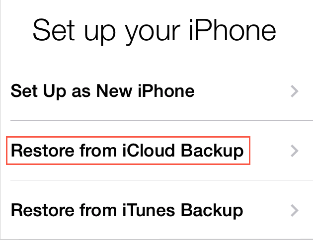How to Restore Lost data After Update to iOS 9/9.3.3 – iCloud
