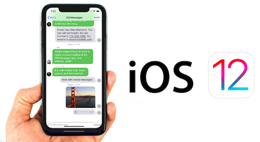 Lost All Messages on iPhone After iOS 12 Update