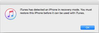iTunes Pop-up Messages