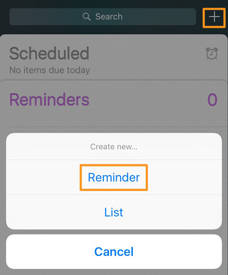 iPhone Reminders Guide – How to Set a Reminder