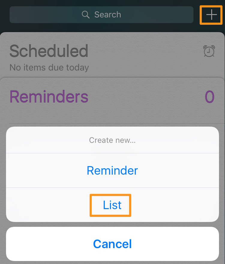 iPhone Reminders Guide – How to Create a List